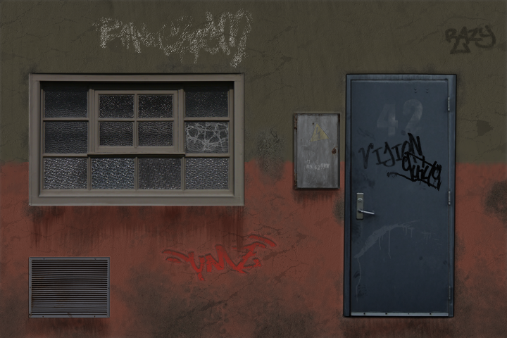 Facade - Sketchy Detroit Metal Shop