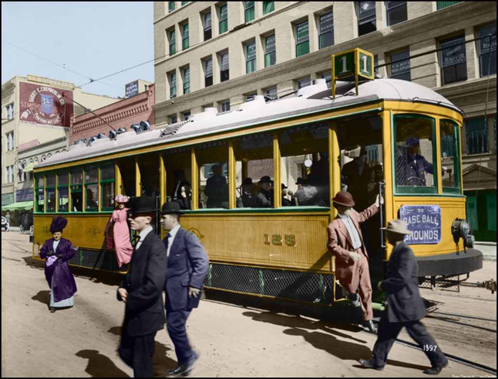Recolor - San Diego Electric Streetcar