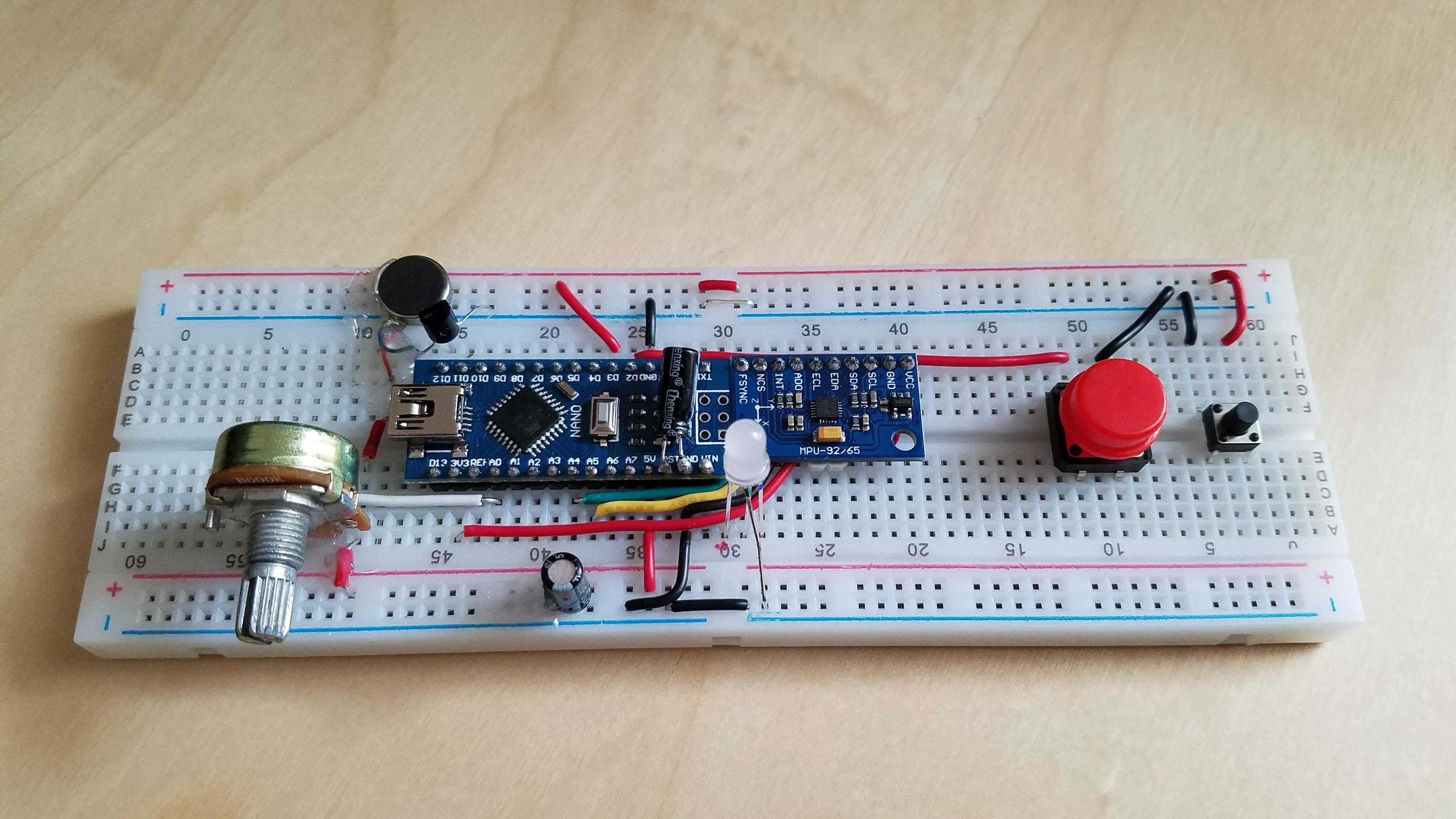 DIY Arduino-Unity Motion Controller – Aidan Lawrence