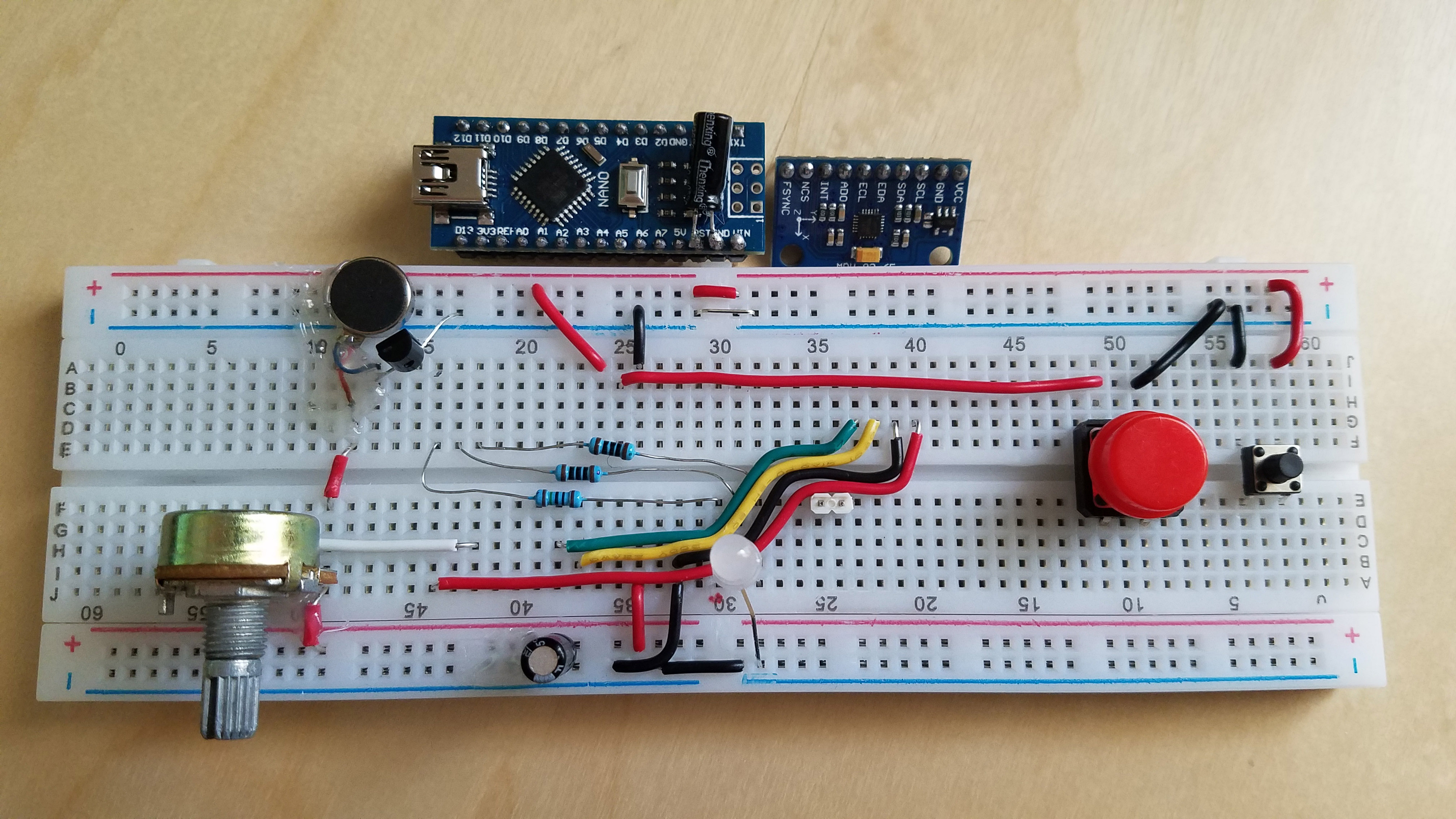 Diy arduino unity motion controller aidan lawrence a do it yourself electronics program that communicates accelerometer data to a game built in unity solutioingenieria Images