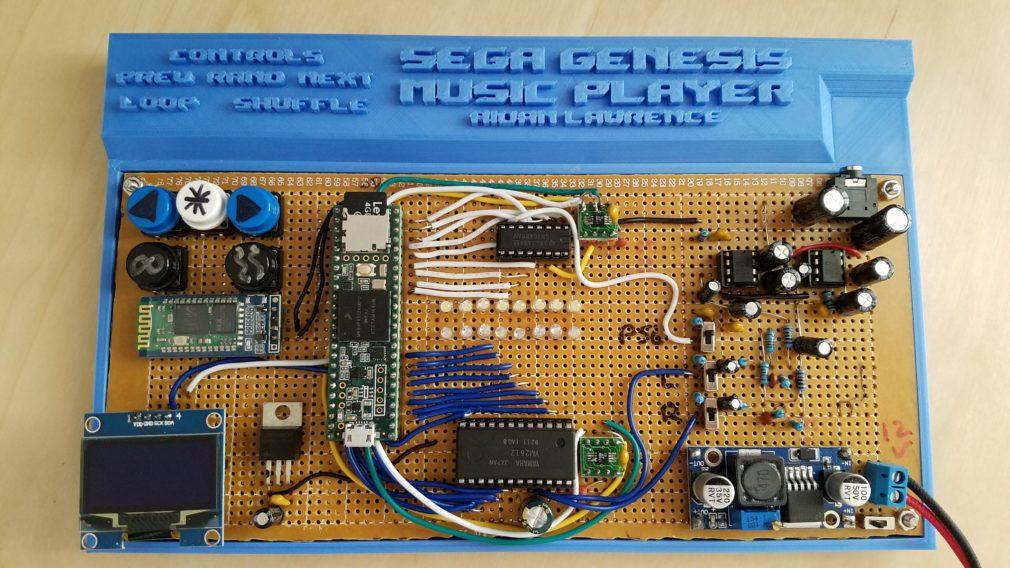 Hardware Sega Genesis Video Game Music Player 3 0 – Aidan