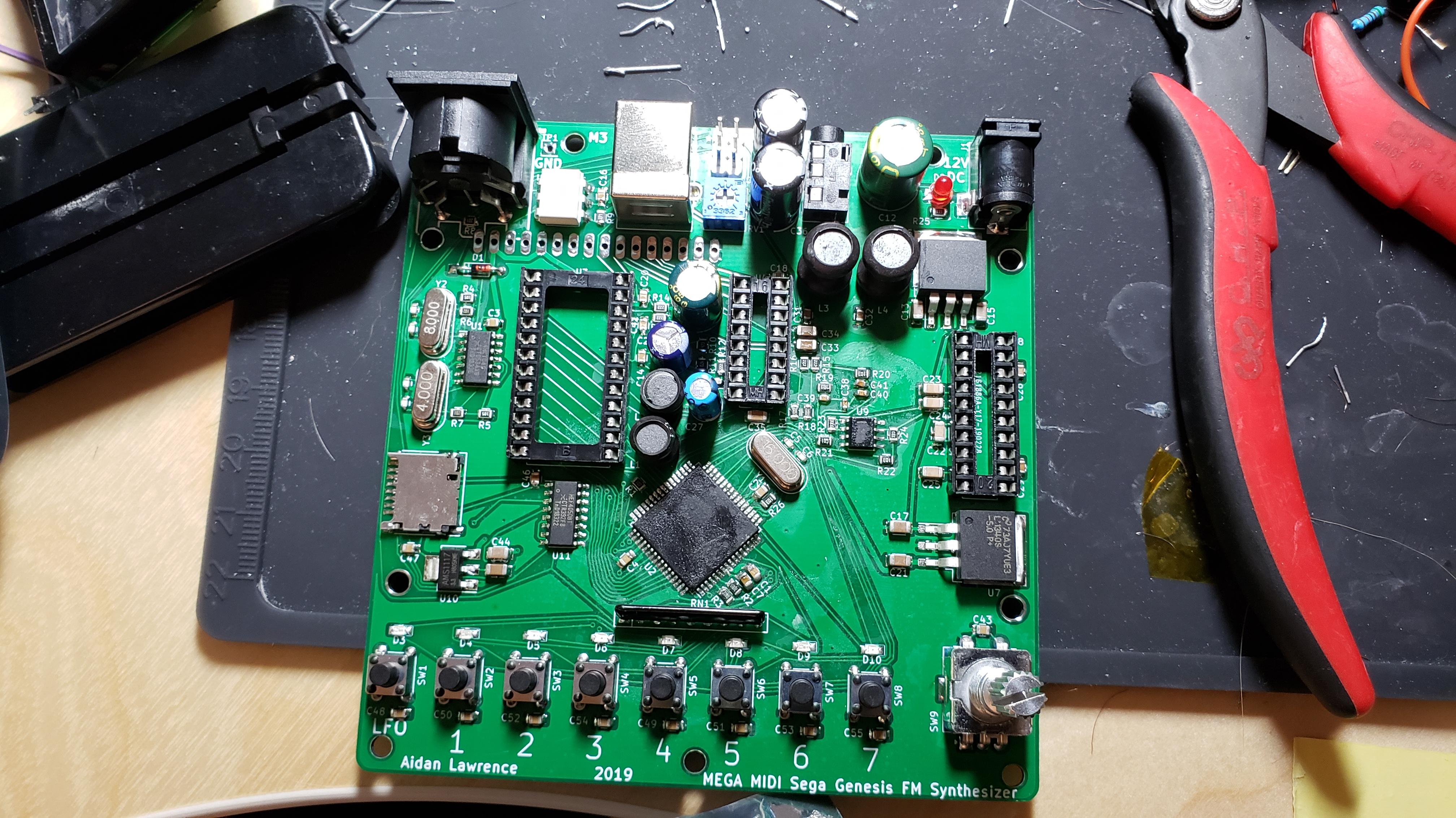 Mega MIDI: A Playable Version of my Hardware Sega Genesis